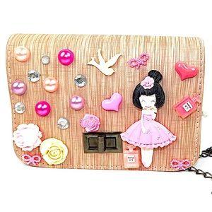 Girls women teen hand designed purse